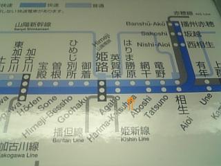 (再放送)路線図