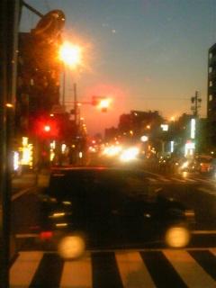 BUS)夕焼けを追いかけて