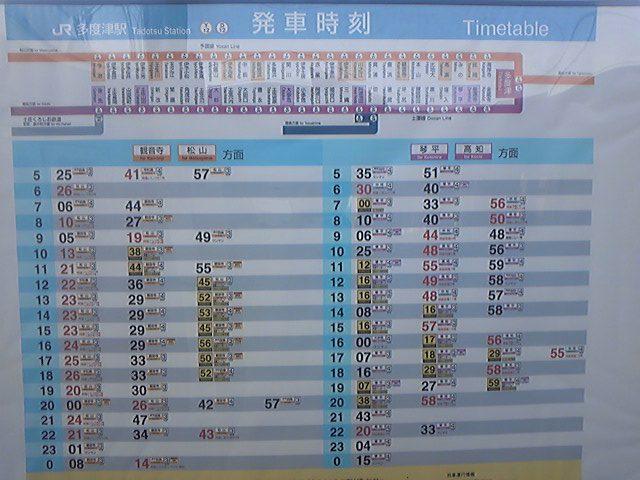 Rail)四国なう