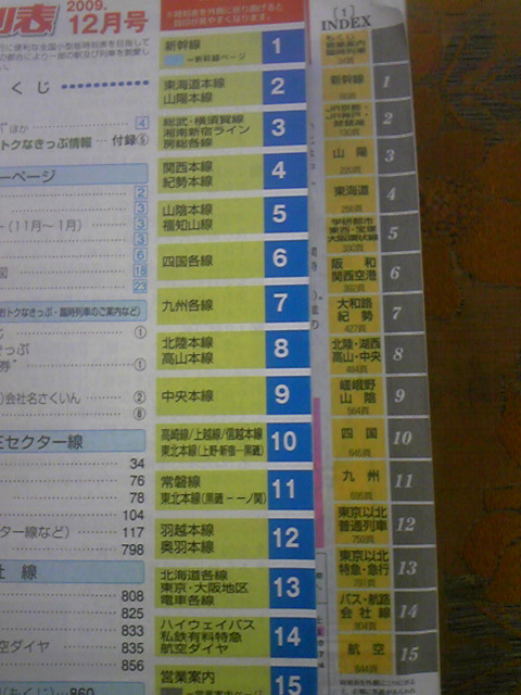 Rail)Train Schedule Time Table