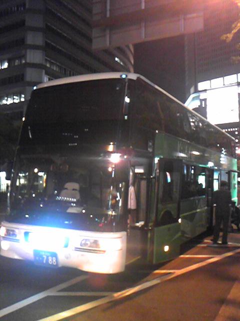 Bus)深夜バス『ギャラクシー号』