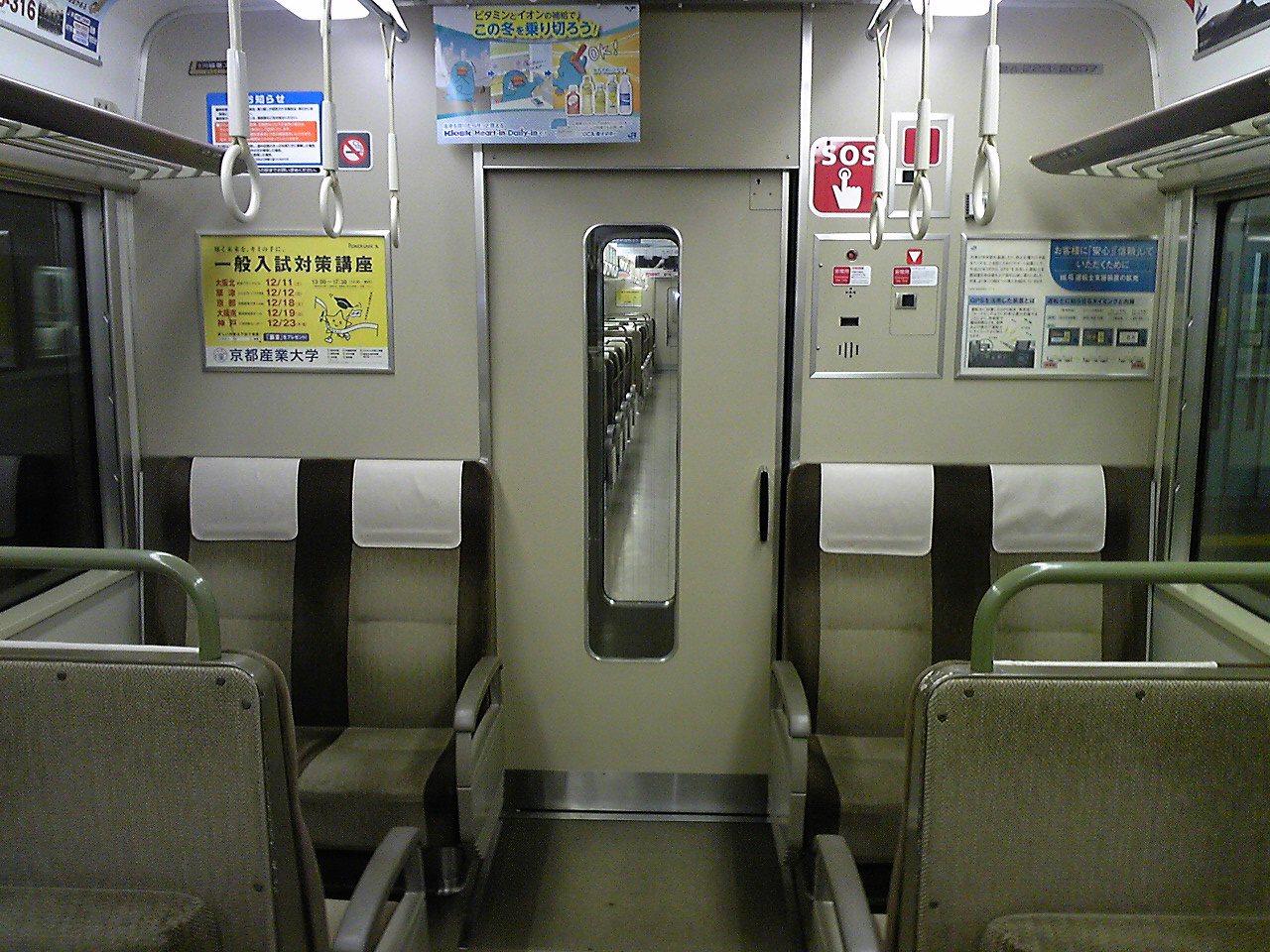 Rail)座席争奪戦線異常アリ?