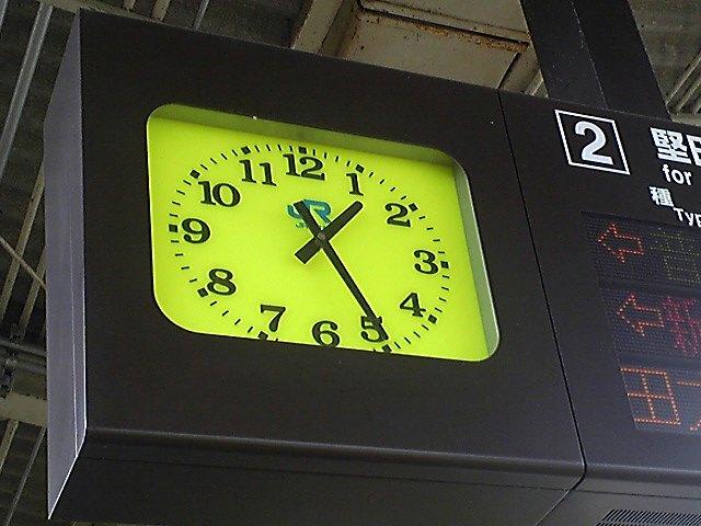Rail/Clock)駅の時計