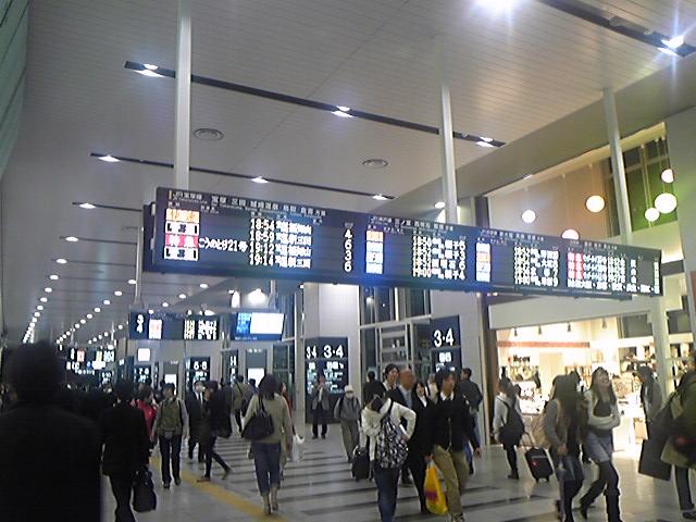 06/Rail)ぶらんにゅー大阪駅(連絡橋)