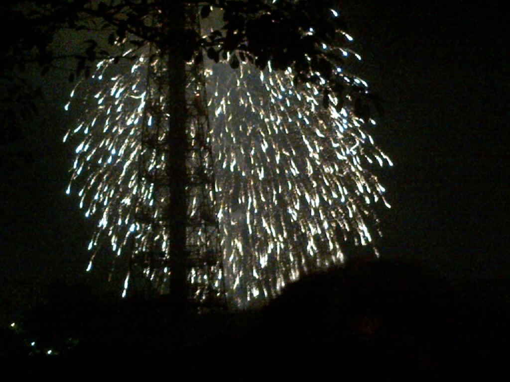047)やっと花火見れましたw