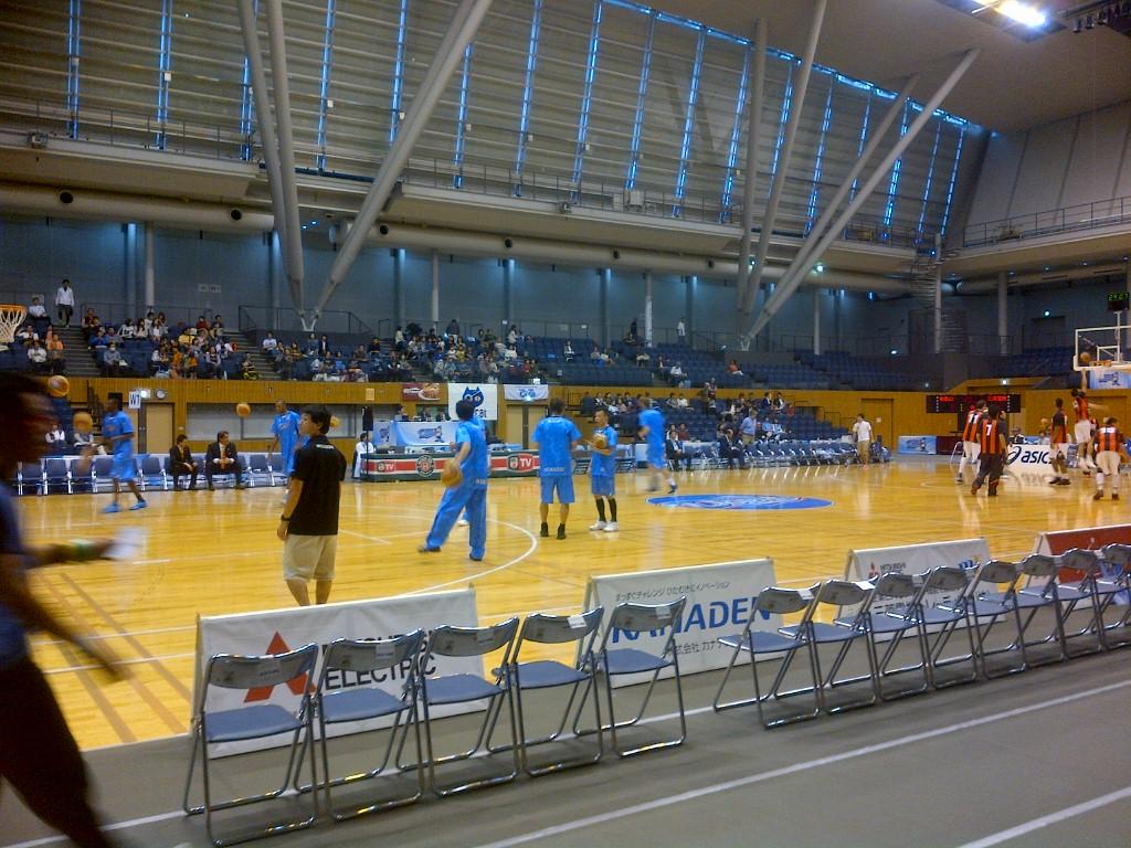 小牧で見てきたバスケNBL<br />   名古屋vs<br />  和歌山