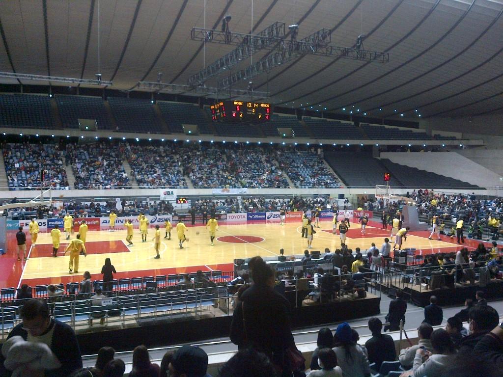 バスケ)オールジャパン2015<br />  準々決勝いってきた and more...