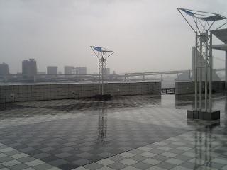 [ヲタ03]<br />  雨の晴海埠頭
