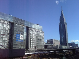 晴れ上がった東京