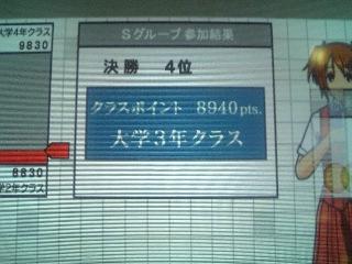 [game]久々に優勝キター!