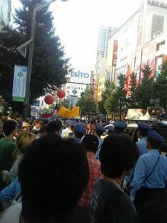 [ヲタ03]<br />  デモ行進@アキハバラ