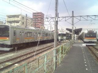 Rail)高麗川